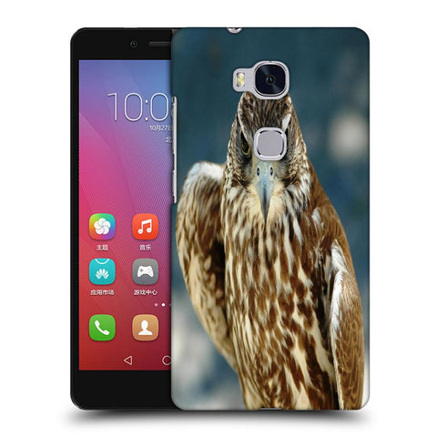 Snoogg Abstract Eagle Designer Protective Back Case Cover For Huawei Honor 5X