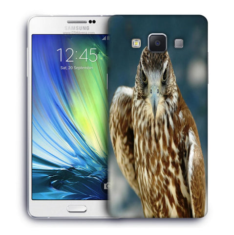 Snoogg Abstract Eagle Designer Protective Back Case Cover For Samsung Galaxy A7