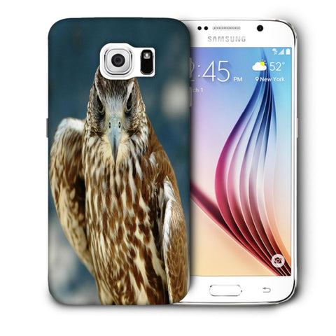 Snoogg Abstract Eagle Designer Protective Back Case Cover For Samsung Galaxy S6