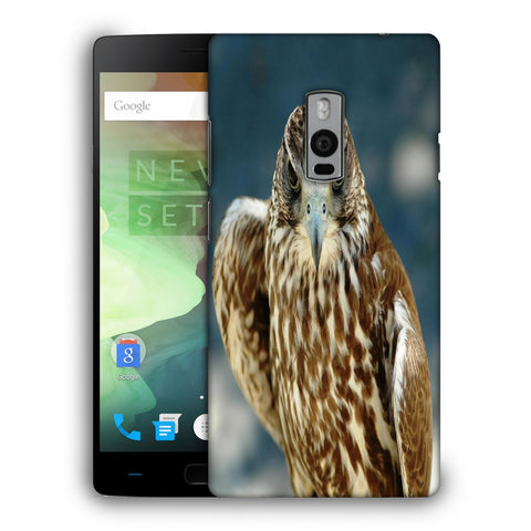 Snoogg Abstract Eagle Designer Protective Back Case Cover For OnePlus Two