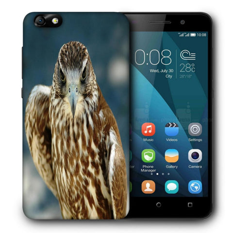 Snoogg Abstract Eagle Designer Protective Back Case Cover For Huawei Honor 4X