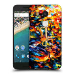 Snoogg Abstract Colorful Paint Designer Protective Back Case Cover For Lg Nexus 5X