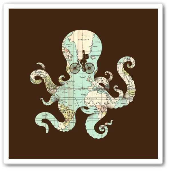 All Around The World Wall Art  Print