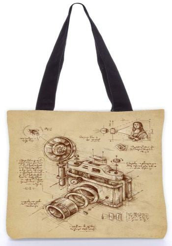 Snoogg  moment catcher Graphic Design by : ENKEL Poly Canvas Tote Bag