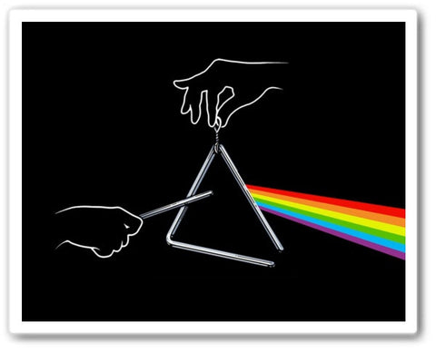the dark side of the tune Wall Art Print