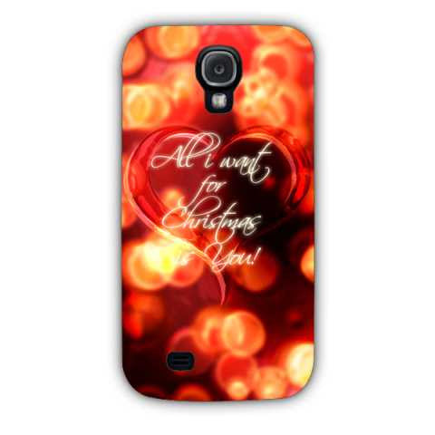 all I want case-Samsung S4 Case Cover By Emiliano Morciano