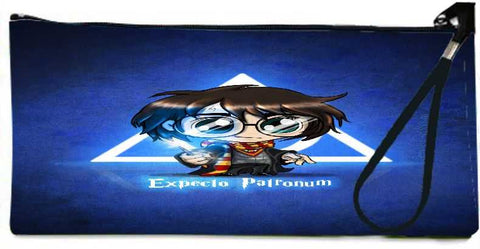 Snoogg chibiIp potter Wallet Clutch Pouch by Emiliano Morciano