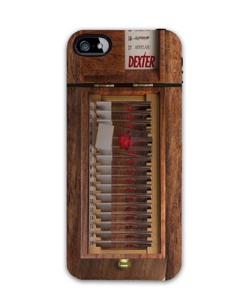 dexter blood slide-iphone4 Case Cover By Emiliano Morciano