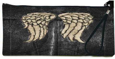 Snoogg dixon wings Wallet Clutch Pouch by Emiliano Morciano