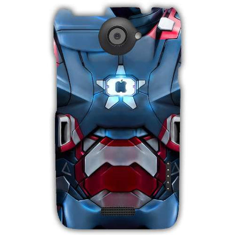 iron patriot-HTC-ONE-X+-case-cover-by-Emiliano Morciano