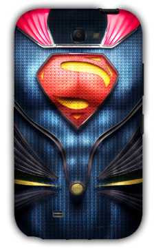 Kal-el-Samsung Note 2 Case Cover By Emiliano Morciano