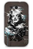 marilyn iphone-Samsung S3 Case Cover By Emiliano Morciano