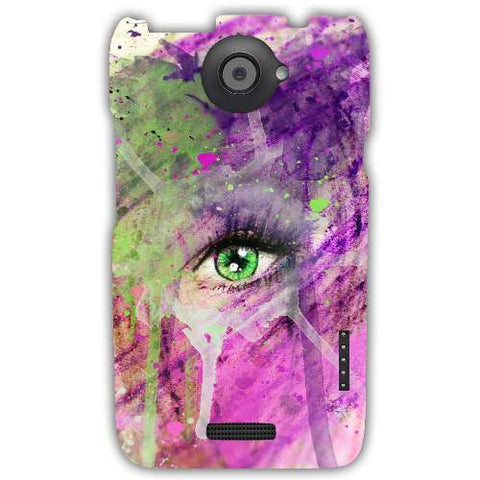 The eye of madness-HTC-ONE-X+-case-cover-by-Emiliano Morciano