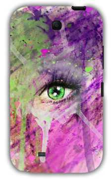 The eye of madness-Samsung Note 2 Case Cover By Emiliano Morciano