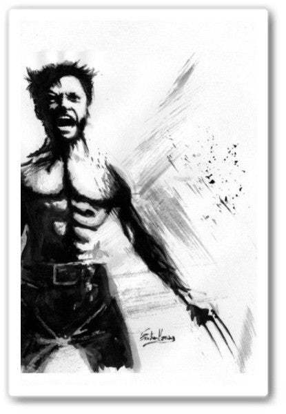 wolverine iphone Wall Art Print