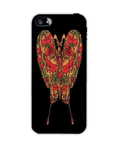 Butterfly in Khokhloma Apple Iphone 4/ 4s case cover By Haidi Shabrina