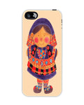 Sara the Purple Girl Apple Iphone5c case cover By Haidi Shabrina