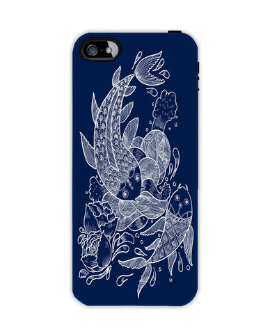 The koi Fishes Apple Iphone 4/ 4s case cover By Haidi Shabrina