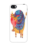The Smile Cow Apple Iphone5c case cover By Haidi Shabrina