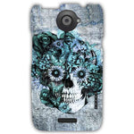 Blue Grunge Ohm Skull SNOOGG-Htc_One_X+-case-cover-by--Kristy Patterson