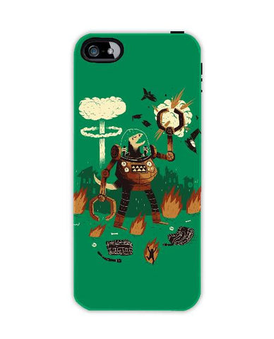 dino wars-Iphone4-case-cover-By-Louis-Roskosch