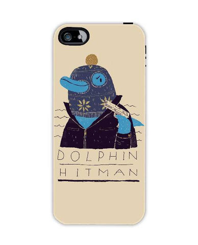 dolphin hitman-Iphone4-case-cover-By-Louis-Roskosch