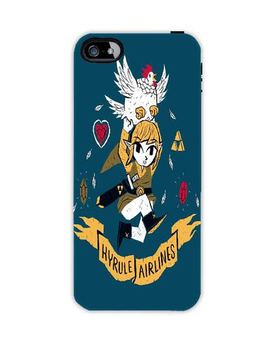 hyrule airlines-Iphone4-case-cover-By-Louis-Roskosch