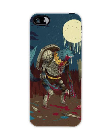 middle ages werewolf-Iphone4-case-cover-By-Louis-Roskosch