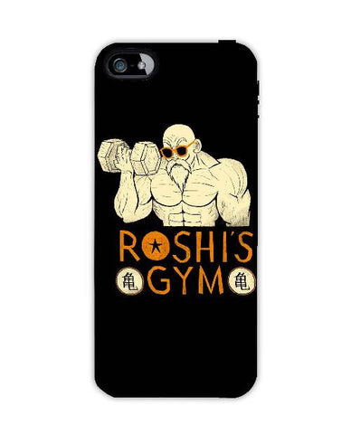 roshis gym-Iphone4-case-cover-By-Louis-Roskosch