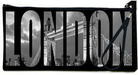 Snoogg London city photos black and white Wallet Clutch Pouch  By Mark Ashkenazi