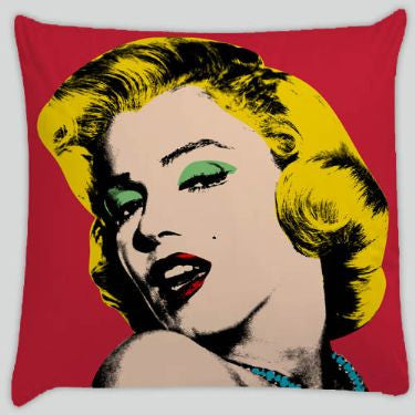 ME -Throw Pillows -by Mark Ashkenazi