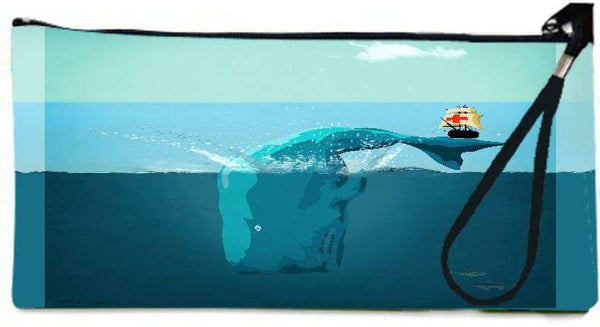 Snoogg sea life 6  Wallet Clutch Pouch  By Mark Ashkenazi