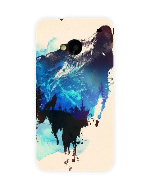 alone as a wolf-HTC-ONE-case-cover-by-Robert_Farkas