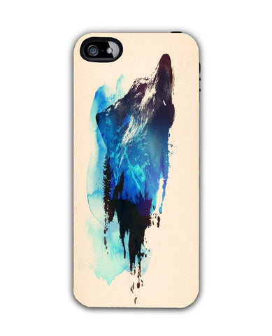 alone as a wolf-iphone5c Case Cover By Robert Farkas