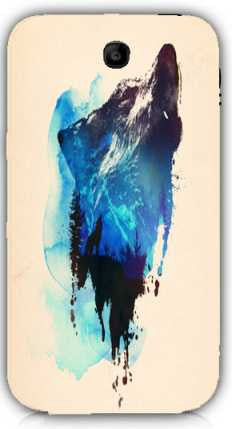 alone as a wolf-Samsung Note 3 Case Cover By Robert Farkas