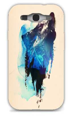 alone as a wolf-Samsung S3 Case Cover By Robert Farkas