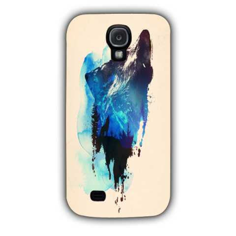 alone as a wolf-Samsung S4 Case Cover By Robert Farkas