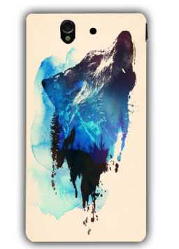 alone as a wolf-Sony L36 Case Cover By Robert Farkas