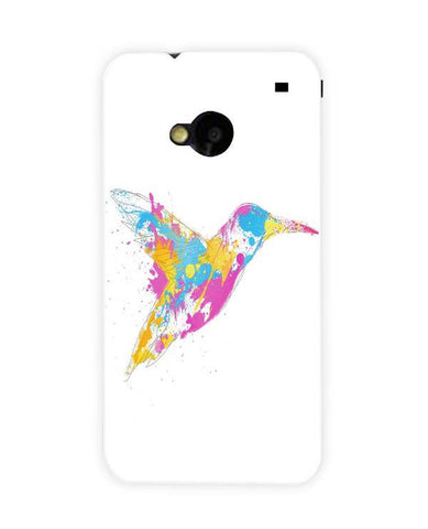 bird of colour-HTC-ONE-case-cover-by-Robert Farkas
