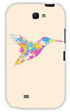 bird of colour-Samsung Note 2 Case Cover By Robert Farkas
