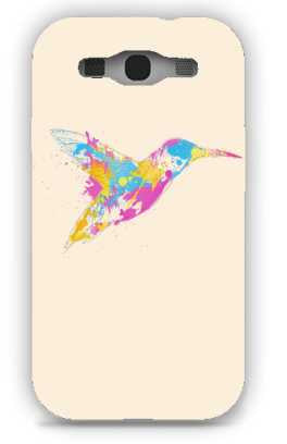 bird of colour-Samsung S3 Case Cover By Robert Farkas