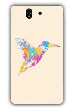 bird of colour-Sony L36 Case Cover By Robert Farkas