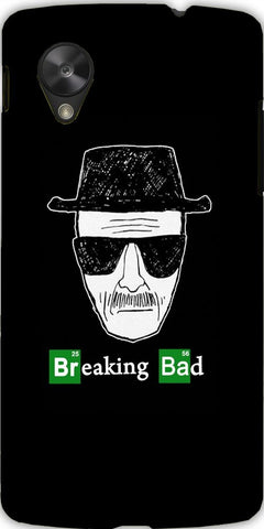 Snoogg  Breaking Bad Case Cover For Google Nexus 5