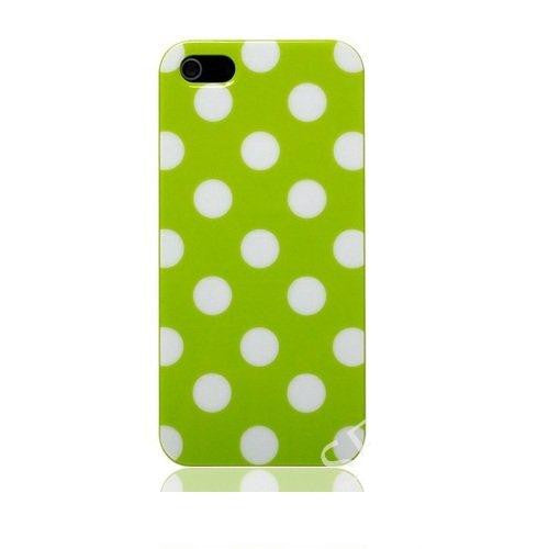 Green Polka Dotted iphone 5