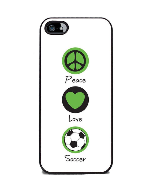Peace Love Soccer iphone 5