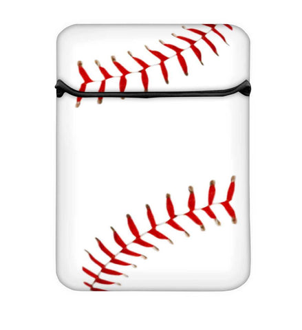 Snoogg Baseball Laptop Case Flip Sleeve Pouch Computer Cover