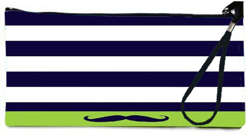 Snoogg  Mustache Nautica Wallet Clutch Pouch