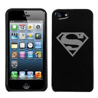 Superman Logo Grey iphone 5