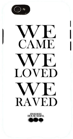 Snoogg  We Came We Raved We Loved Case Cover For Apple Iphone 6+