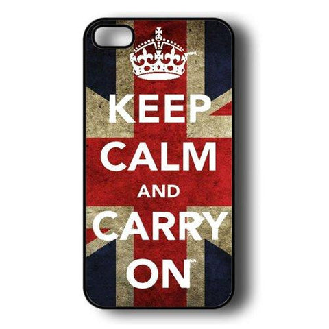 Keep Calm and Carry on iPhone 5